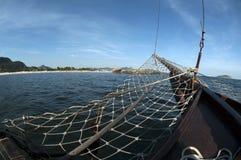 La playa de Piratininga, Niteroi, Rio de Janeiro - el Brasil Imágenes de archivo libres de regalías