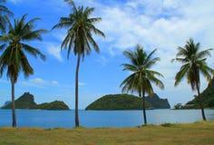 La playa de Tailandia Imágenes de archivo libres de regalías