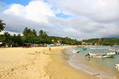 La playa de Unawatuna Imagenes de archivo