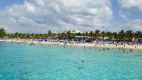 La playa del gobernador en Turk Island magnífico fotografía de archivo libre de regalías