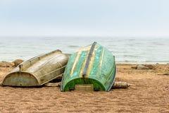 La playa del mar Báltico en Repino cerca de St Petersburg Fotografía de archivo