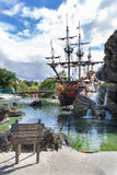 La playa del pirata Imagen de archivo