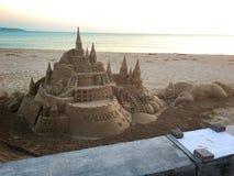 La playa del verano en Palma Majorca, Europa Foto de archivo libre de regalías