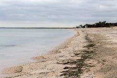 La playa en Crimea Foto de archivo libre de regalías