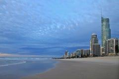 La playa en Gold Coast Australia Foto de archivo