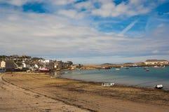 La playa en St Mary Foto de archivo libre de regalías