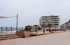 La playa en Vina del Mar Imagen de archivo