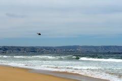 La playa en Vina del Mar Imagen de archivo libre de regalías