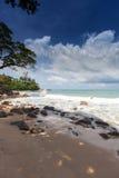 La playa Laem canta en Phuket Foto de archivo libre de regalías