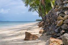 La playa Samui Foto de archivo libre de regalías