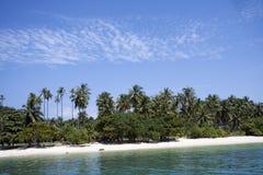 La playa tropical, KOH sonó fotografía de archivo
