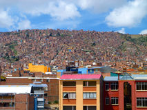 La Plaz, Bolivien lizenzfreies stockbild