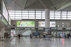 La plaza d'accès de l'aéroport international de centrair de Chubu Image libre de droits