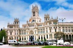 Plaza de Cibeles, Madrid Fotografie Stock Libere da Diritti