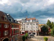 La plaza de la Concordia Francia imagenes de archivo