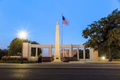 La plaza de Dealy à Dallas du centre images libres de droits