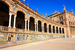 La Plaza de España, Royalty Free Stock Images