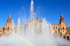 La Plaza de España, Immagine Stock