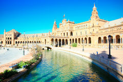 La Plaza de España,. 