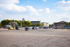 La plaza de la Concordia en París, Francia, puede 2013 imagenes de archivo