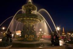 La plaza de la Concordia, París Fotografía de archivo