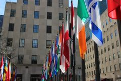 La plaza de Rockefeller Foto de archivo