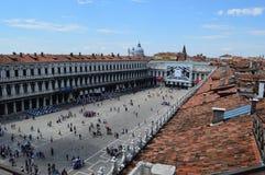La Plaza de San Marcos desde arriba Imagen de archivo