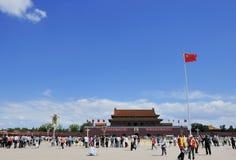 La Plaza de Tiananmen Fotografía de archivo