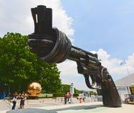 La plaza del centro operazioni di nazione unita Fotografia Stock