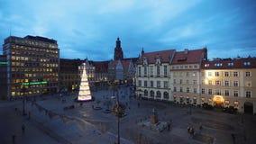 La plaza del mercado de Wroclaw