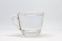 la pleine eau en verre Photographie stock