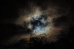 La pleine lune Photos stock