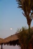 La pleine lune dans Ilha font Amor Photographie stock libre de droits