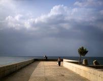 La pluie à Funchal madeira portugal images stock