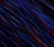 La pluie étoilée abstraite, une traînée des étoiles est partie dans l'espace froid de l'univers Photos stock
