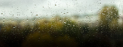 La pluie laisse tomber le fond Images libres de droits