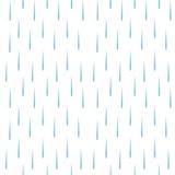 La pluie laisse tomber le vecteur de modèle sans couture illustration stock
