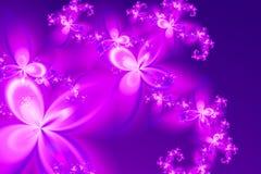 La pluie rêveuse de la fleur Photos libres de droits