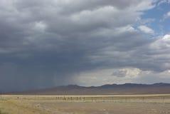 La pluie vient Photo libre de droits