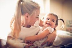 La plupart de bel amour est entre le parent et l'enfant Photographie stock libre de droits