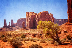 La plupart de vue intéressante de vallée de monument Photo libre de droits