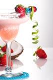 La plupart des série populaire de cocktails - fraise Colada Image libre de droits