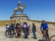 La plus grande statue du monde de Chinghis Khan Photo libre de droits