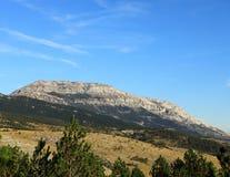 La plus haute montagne de Dinara- Croatie Image libre de droits