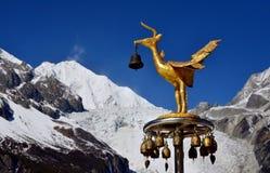 La plus haute montagne de la montagne de ŒGongga de ¼ de provinceï de Sichuan Image stock