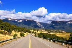 La plus longue route le Ruta 40 Photographie stock libre de droits