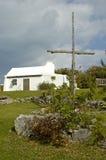 La plus petite église 1 des Bermudes Image stock