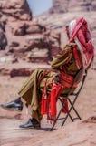 La población colorida de Jordania imágenes de archivo libres de regalías
