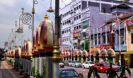 La poca India, Brickfields, Kuala Lumpur, Malasia Fotografía de archivo libre de regalías