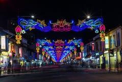 La poca India con la decoración colorida para el festival de Diwali